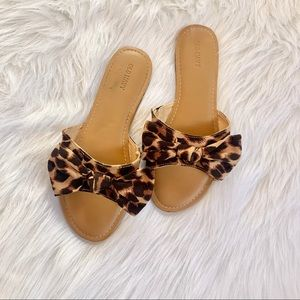 Old Navy Leopard Sandals
